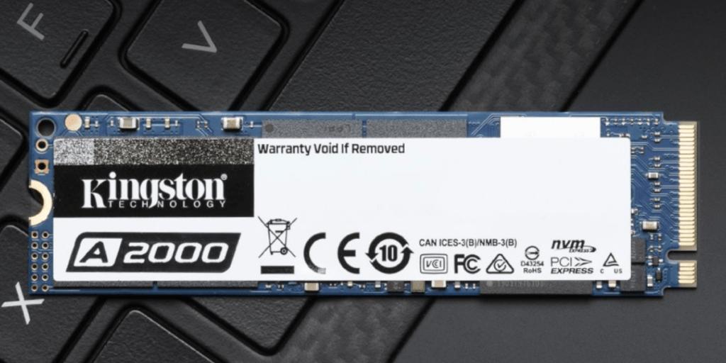 金士頓 A2000 開箱評價
