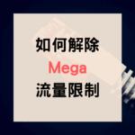 Mega 流量限制