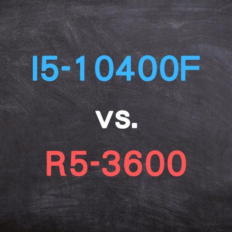 I5-10400F 評價