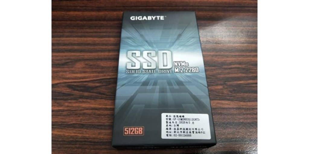 技嘉 512G M.2 開箱評價