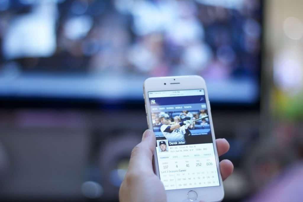 手機接電視