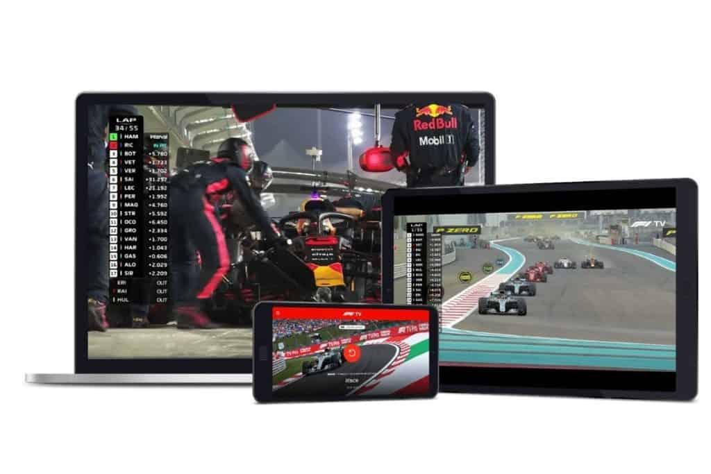 F1 TV Pro 台灣